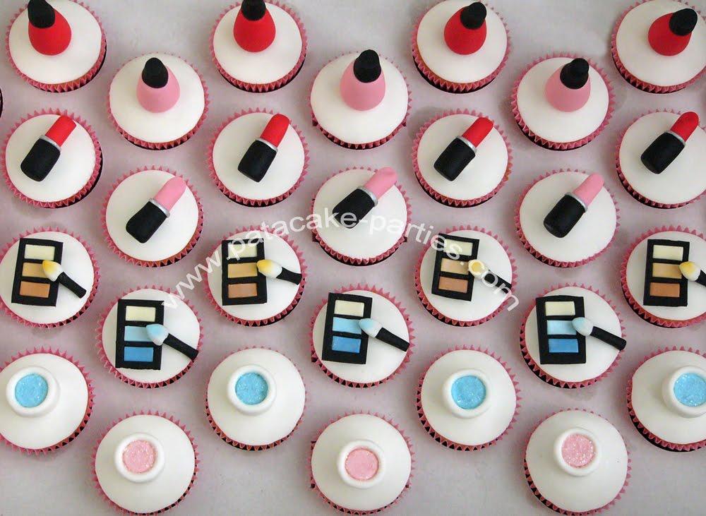 Pat A Cake Parties Make Up Cupcakes