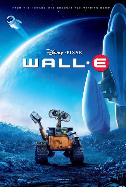Cartel película de Pixar Animation Studios Walle-E