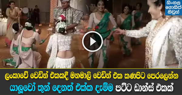 Sri Lankan Amazing Wedding Dance Video