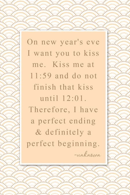 New Years Eve Quotes For Love: Setting Your New Year's Eve Table