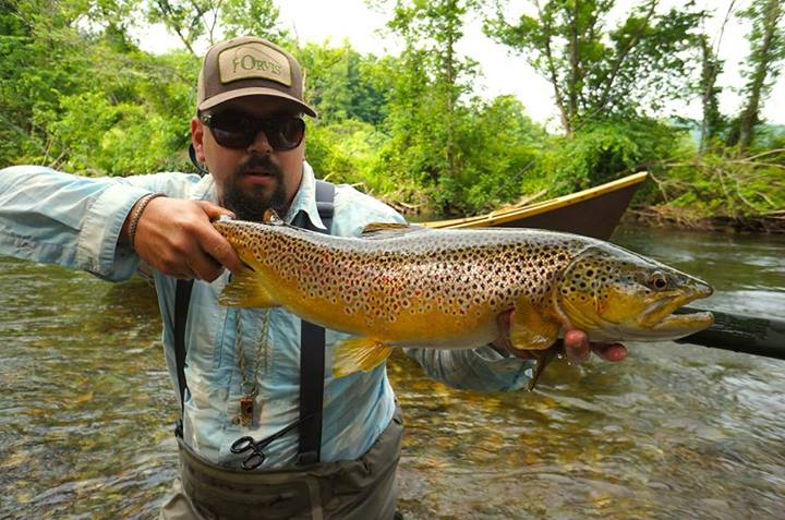Country pleasures fly fishing streamer tips from for Orvis fishing report