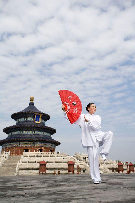 Tai Chi at Temple of Heaven, Beijing, China