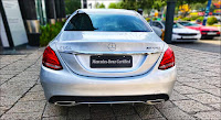 Mercedes C300 AMG 2019 đã qua sử dụng màu Bạc
