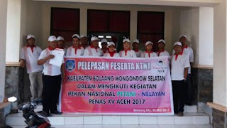 Sebelas Petani dan Nelayan Asal Bolsel Dilepas ke Aceh