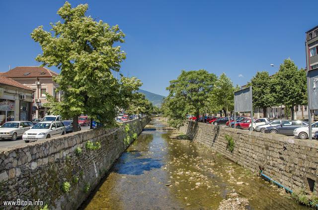 Dragor River, Bitola, Macedonia