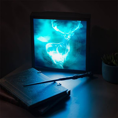 Harry Potter Patronus 3D Lightbox