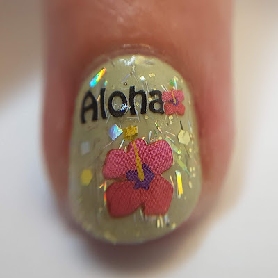 nailart, nail art stickers, glitter topper