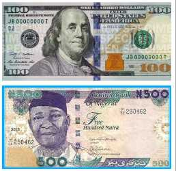 Dollar To Naira Exchange Rate Today Nigerian Banks Cbn 2018