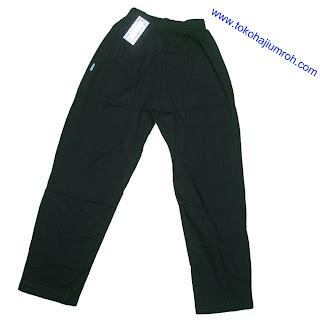 Celana Haji dan Umrah laki-laki/Perempuan Warna Hitam;