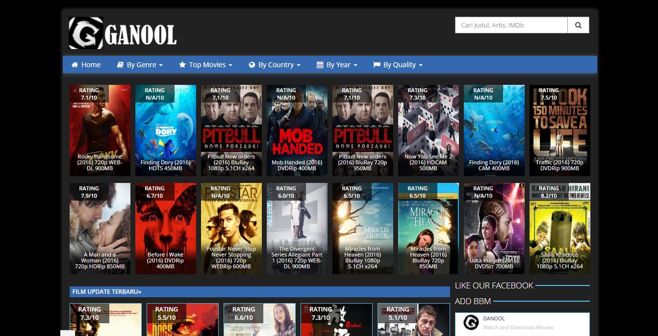 3+ Situs Download FILM Terbaik dan Terlengkap 2017