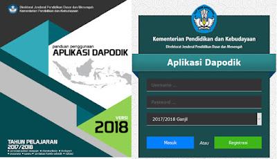 Petunjuk Dan Panduan Lengkap Dapodik 2018