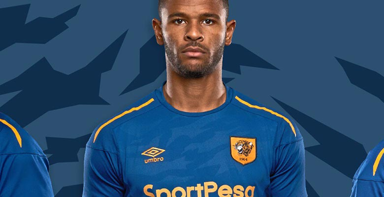 Hull City and official kit supplier Umbro today jointly unveiled the club s  new third kit for the ongoing 2017-2018 season. The Hull 2017-18 third  jersey ... e6b391576