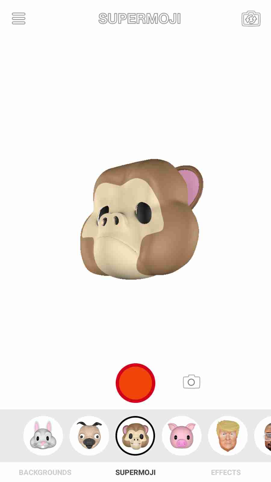 The Apple iPhone X Animoji Monkey Emojis