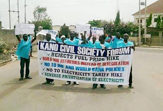 Pictures from Kano NLC Strike