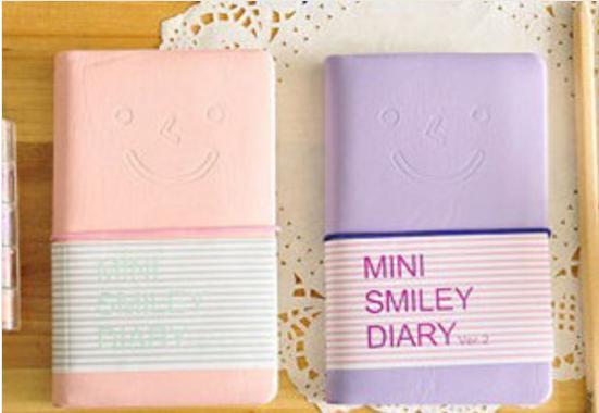 Mini Smiley Caderninho (foto: Calda de Mornago/reprodução)