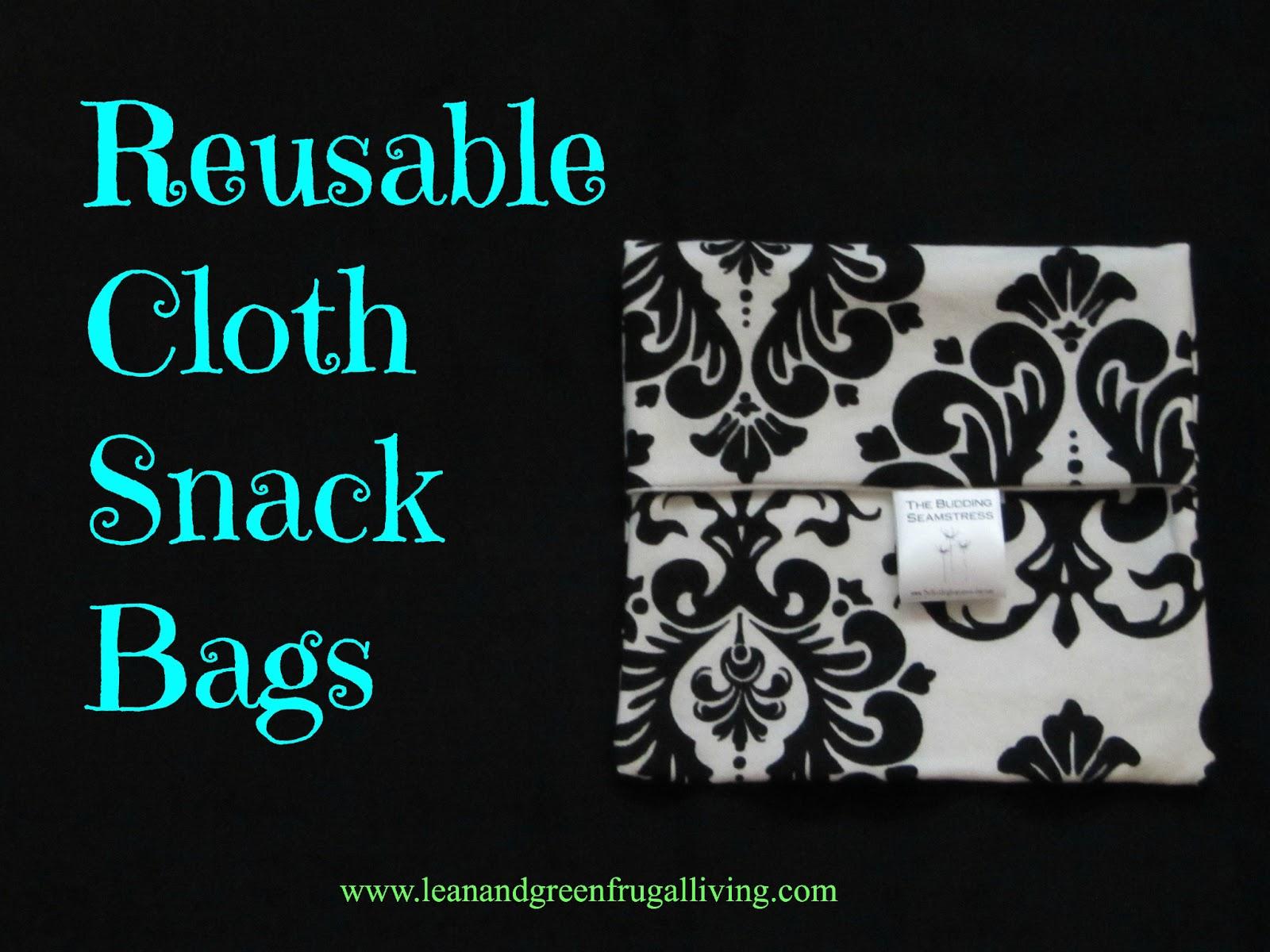 Reusable Cloth Snack Bag Review
