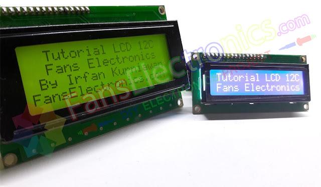 Dual LCD 20x4 dan 16x2 I2C PCF8574