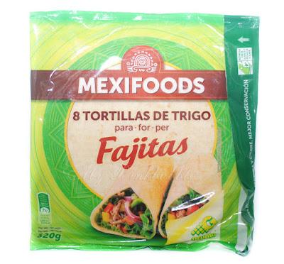 Mexifood fajitas