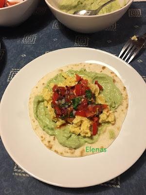 Tacos med äggröra