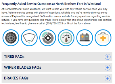 Service FAQs at North Brothers Ford in Westland, MI