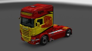 The Master Of Truck's Skin for Scania RJL