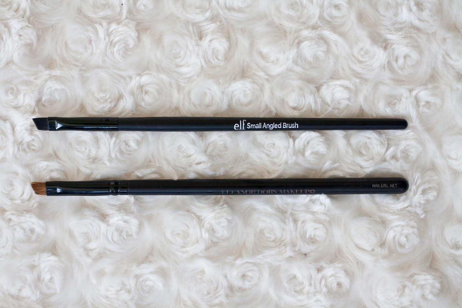 angled eyeliner brush elf eleanor dorn