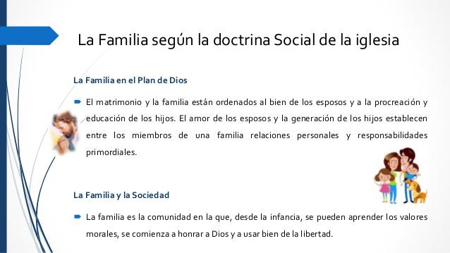 Matrimonio Segun La Biblia Catolica : Educar desde la familia doctrina social de iglesia