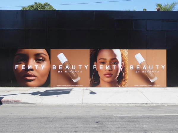 Fenty Beauty Rihanna street posters