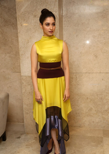 Tamanna Bhatia in Dhruv Kapoor at Okkadochadu Audio Launch