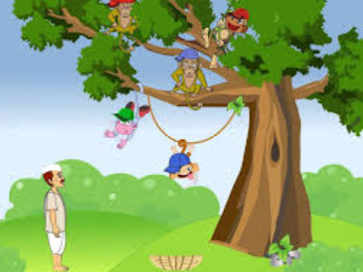 contoh narrative singkat tentang cap sller dan monkeys
