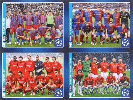 Football cartophilic info exchange panini uefa champions league uefa champions league 2013 14 official sticker collection panini 630 stickers voltagebd Choice Image