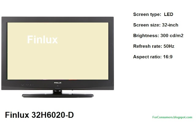 Finlux 32H6020-D 32-inch LED TV specifications