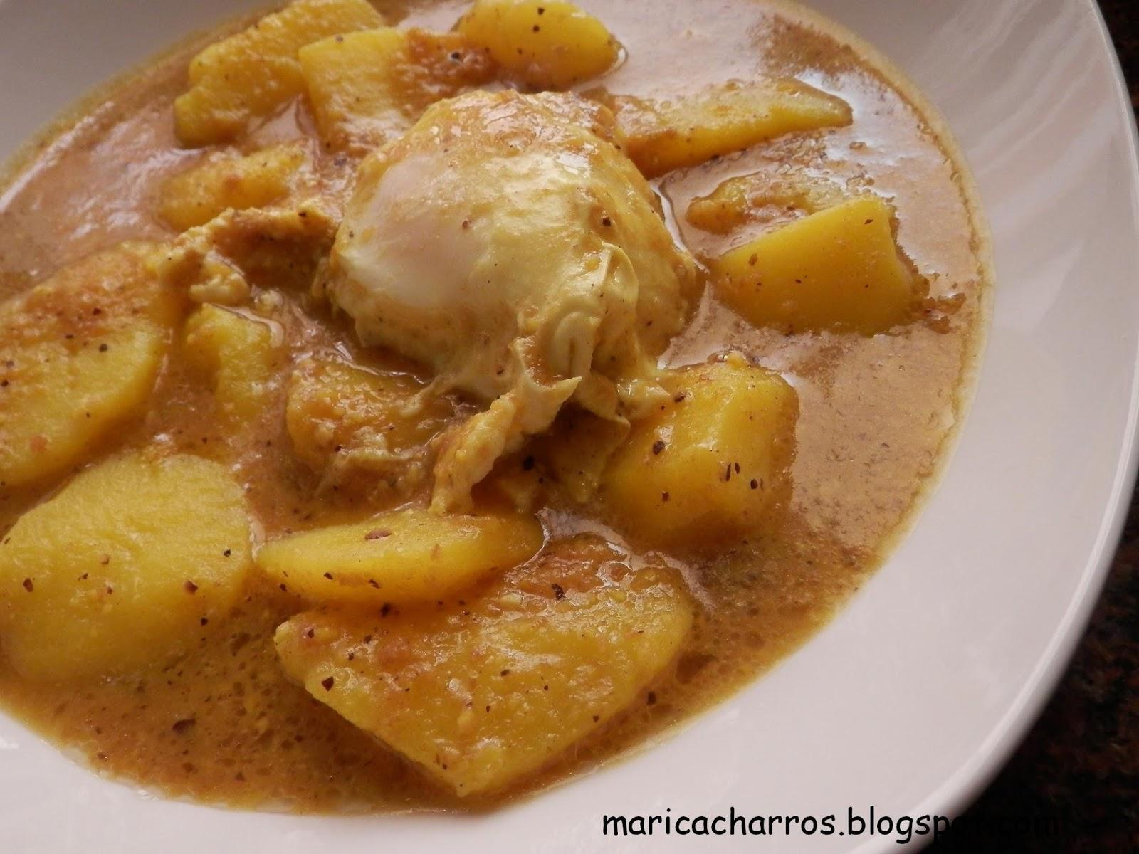 Maricacharros patatas en ajopollo - Tiempo para cocer patatas ...