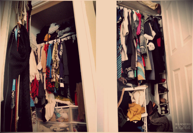 Not To Mention That I Could No Longer Stuff Everything Into An Itty Bitty Closet Oh The Horror