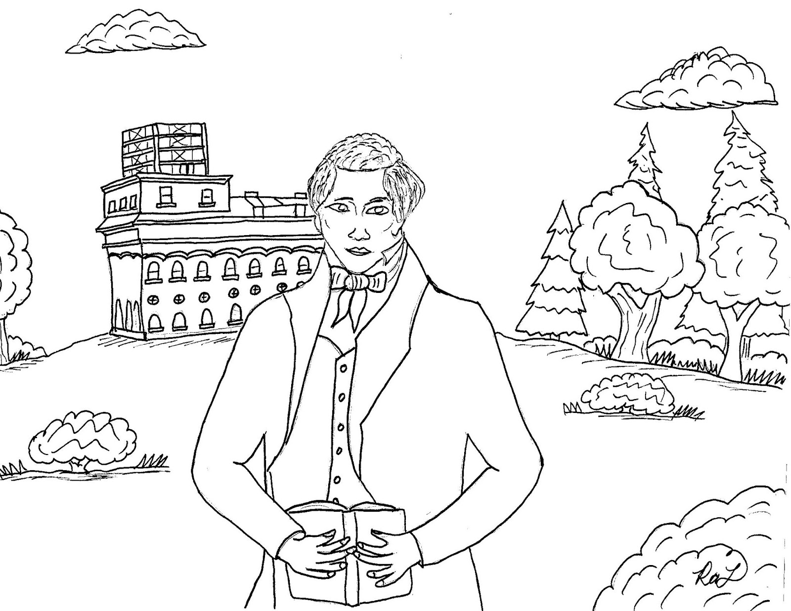 Robin S Great Coloring Pages Joseph Smith