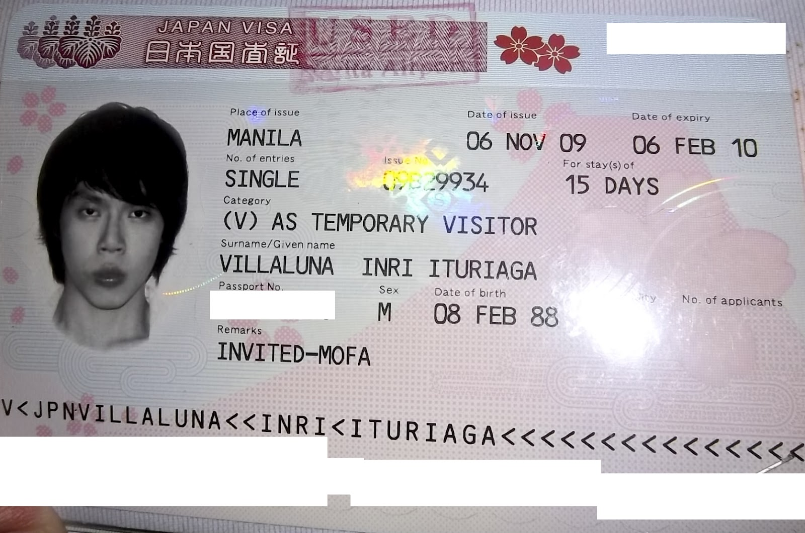 102_3435 Visa Application Form To Enter Japan Sample on japan tourist, japan visa application fee, example application form, japan visa stamp, japan student visa, japan immigration, japan visa to enter, dating application form,