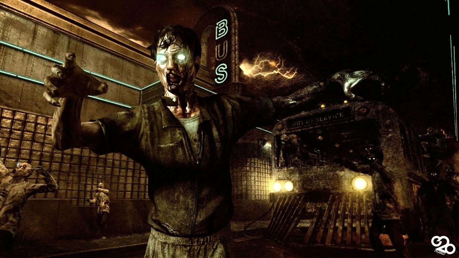 Fond d'écran zombie animé - Fonds d'écran HD
