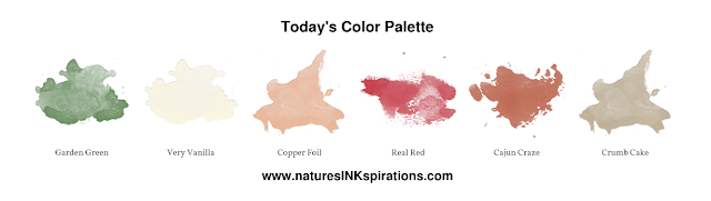Color Palette for Today's Card | Nature's INKspirations by Angie McKenzie | JOS November 2019 Blog Hop