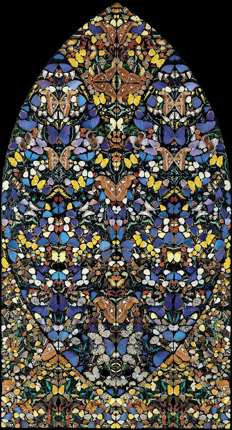 Damien Hirst Butterfly