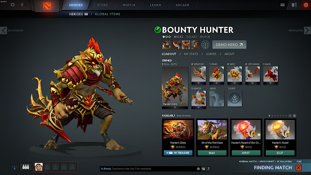 My DotA2 Hero Set collection [March 2017]