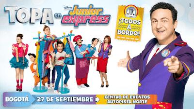 CAPITAN Topa: Junior Express En Vivo En Bogotá  1