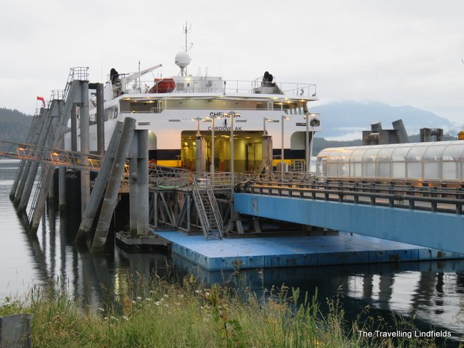 The Travelling Lindfields: The Alaska Marine Highway - Juneau to