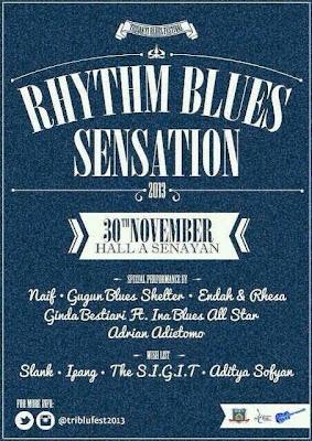 Trisakti Blues Festival 2013