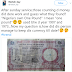 Photos - Man Donates Nigeria's Old £1 As Offering During Church Service