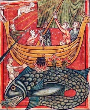 St Brendan and the whale