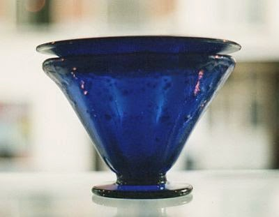 Leerdam Unica glass bowl, design by Andries Copier