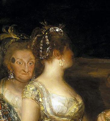 Arte Torreherberos Comentario De La Familia De Carlos Iv De Goya