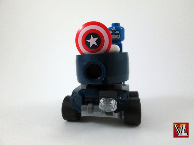 Set LEGO 76065 Mighty Micros: Captain America vs. Red Skull Tema: Marvel Super Heroes