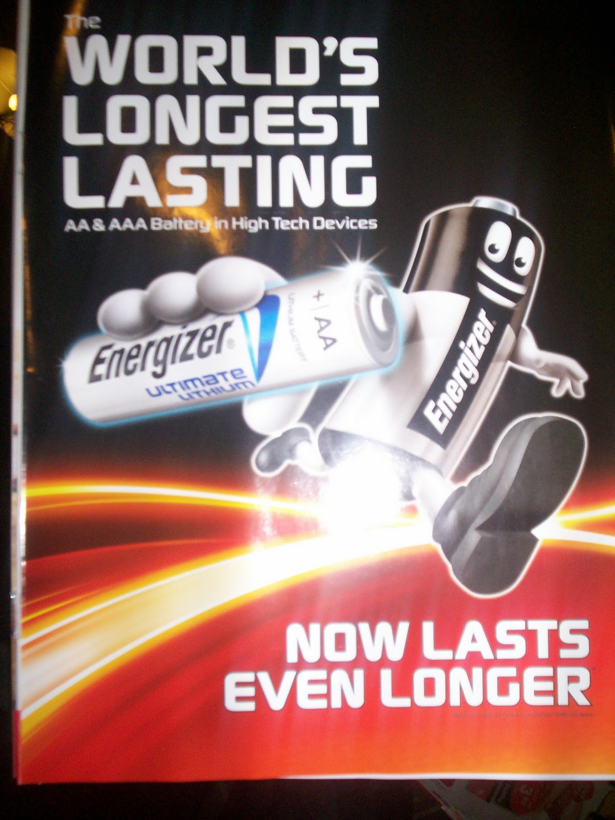 Slogans, Catch lines and Tag lines: Energizer Batteries ...
