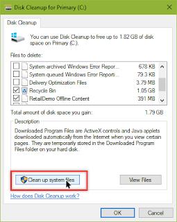 ما هو المجلد Windows.old الذي يأخذ مساحة تتعدى 10 جيجا وكيفية إزالته